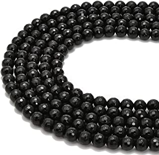 Natural 10mm 15.5 inches Black matte agateonyx faceted round beads Genuine Gemstone