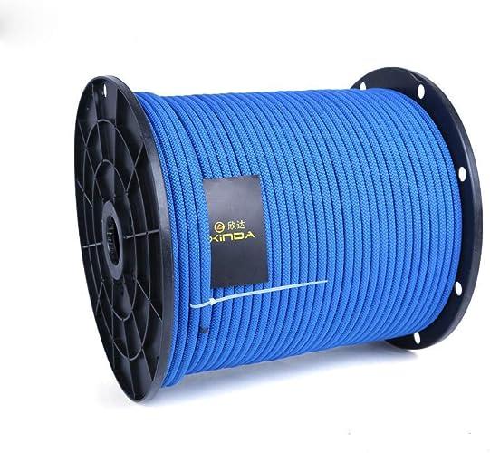 HWPYSL Corde Statique de 8Mm. Corde de Vie de cable Corde d'escalade. Corde de Vitesse. cable fournit des Cordes de sécurité extérieures
