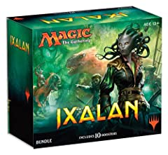 Brave the Unknown! Ixalan features double-faced cards! Ixalan features three brand-new planes walker cards, including the introduction of Huatli! English Edition
