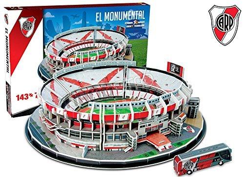 River Plate El Monumental Stadium puzzle 3D (kog)