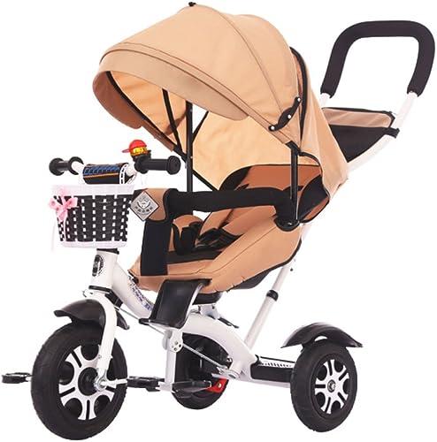 estilo clásico QXMEI La Bicicleta del Triciclo De Los Niños 1-3-6 1-3-6 1-3-6 2 Puede Acostar Cochecito De Bebé Cochecito De Bebé De La Bici,gris  genuina alta calidad