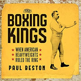 The Boxing Kings audiobook cover art
