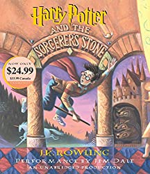 audiobook cover of Harry Potter - books set in Florida