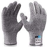 Grebarley Schnittschutzhandschuhe,Arbeitshandschuhe,Küchen Handschuhe,Level 5...