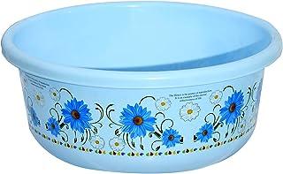 Heart Home Unbreakable Plastic Multipurpose Bath Tub/Washing Tub 40 Litre (Blue) - CTHH18110
