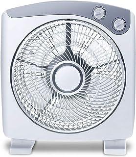 XSJZ Ventilador eléctrico/Ventilador de Escritorio/Dormitorio para Estudiantes Ventilador pequeño/Mute Mini Ventilador eléctrico para Dormitorio de la Oficina del hogar (36 * 32cm) Se Puede Gira