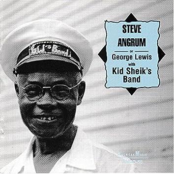 Steve Angrum or George Lewis with Kid Sheik's Band