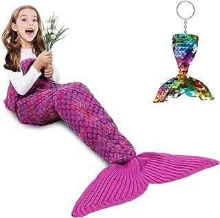 AmyHomie Mermaid Tail Blanket, Mermaid Blanket Adult...
