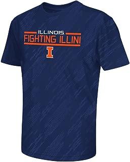 Youth NCAA Illinois Fighting Illini Short Sleeve Tee Shirt (Team Color)