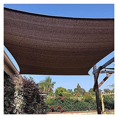 CSD Tabla Toldo Patio Garden Sun Shade Navega al aire libre - Toldos de jardín, Para Flora Artificial Decorativa, Durable, Buena Permeabilidad Aérea, Pantallas protectoras de Balcón, Tolding Toopies -