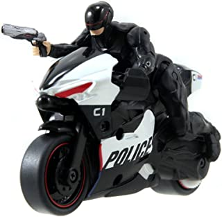 Jada Toys RoboCop Pull Back Police Motocycle with RoboCop 3.0 Action Figure