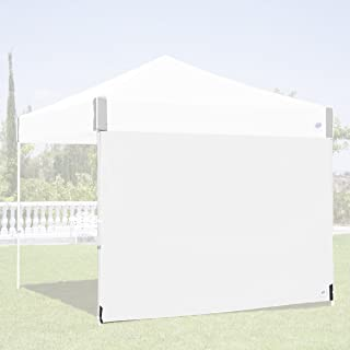 E-Z UP Recreational Sidewall – White - Fits Straight Leg 10' E-Z UP Instant Shelters