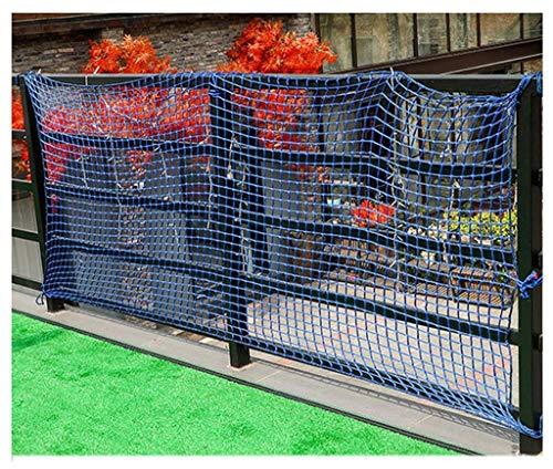 ZXL Net voor kinderen, net voor baby's, net voor balkon, ladder, zwart, bescherming voor kinderen, veiligheid voor katten, hekken, leuningen, deur voor leuningen, voor kinderen en kinderen