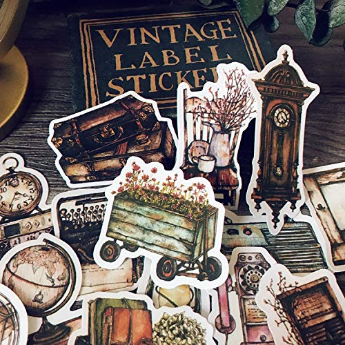 Junk Journal Vintage Doodle Meubels Papier Stickers Voor Dagboek Bullet Journal Planner Scrapbook Scrapbooking 14 stks