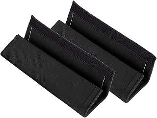 2Pcs Neu Auto Innenraum 27 6.5cm Komfortabel Kissen Weich Pl/üsch Car Shoulder Pad Abdeckungen f/ür den Sicherheitsgurt pink