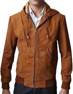 KAAZEE Jackie & Ryan Ben Barnes (Ryan) Brown Hooded Jacket