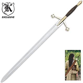 K EXCLUSIVE Scottish Early Pattern Claymore Sword