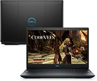 "Notebook Dell G3 15 Gaming, G3-3590-A20P, 9ª Geração Intel Core i5-9300HQ Quad Core, 8 GB RAM, HD 1TB +128GB SSD, NVIDIA® GeForce® GTX 1650 4GB GDDR5, Tela 15.6"" LED Full HD, Windows 10, Preto"