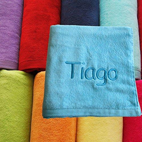 /jaune Drap de bain serviette de plage Grande Taille vacances Serviettes 100/% coton 400/g//m/² Motif uni/