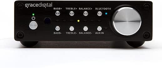Grace Digital GDI-BTAR513 100 Watt Digital Integrated Stereo Amplifier with Built-in AptX Bluetooth Wireless Stereo Receiver
