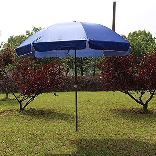 HXLQ Sombrilla Exterior,Sombrilla De ProteccióN UV Sombrilla De Terraza, Sombrilla De Altura Ajustable, Material Grueso, Sombrilla De JardíN A Prueba De Lluvia, 2.4 M
