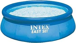 Intex 28112GN - Piscina Easy-Set Set Filtro de Cartucho 1,250 l/h con Certificación TIV/GS 244 x 76 cm