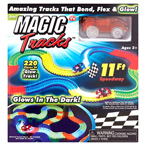 Magic Tracks Race Track (Coche Naranja)