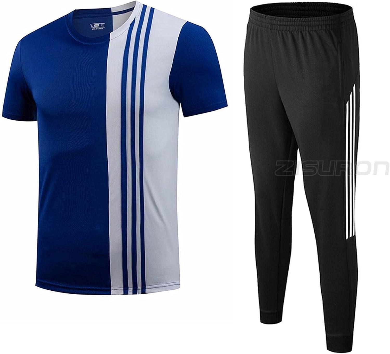 New Sports Suits Men Running Joggingzip Sportpants Gorgeous In stock Shrit