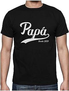 Camiseta para Hombre Dia del Padre Personalizada el Mejor Pap/á Ultrabasic