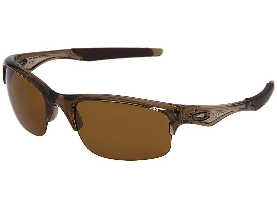 Oakley Bottle Rocket Polarized (Brown Smoke/Bronze Polarized) Sport Sunglasses