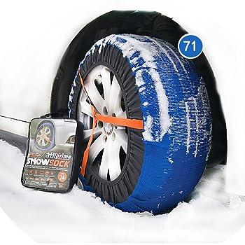 Valise comprenant 2 chaines textile et 1 paire de gants Chaussette neige textile pneu 295//35R20 excellente protection de la jante