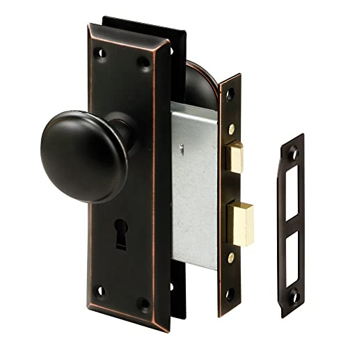 Prime-Line Products Prime-Line E 2495 Mortise Keyed Knob – Perfect for  Replacing - Antique Mortise Lock Set: Amazon.com