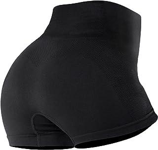 SotRong Women's Seamless Workout Yoga Running Shorts High Waist Tummy Control Cycling Shorts Summer Hot Pants