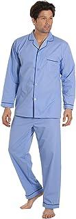 Haigman Mens Easy Care Polycotton Long Pyjama Lounge Wear