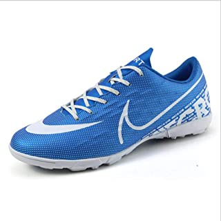 Men Soccer Shoe Flat shoes Athletic Outdoor Comfortable ShoesBoys Football Student Cleats Sneaker