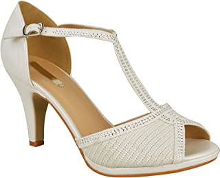 Best t bar shoes mid heel Reviews