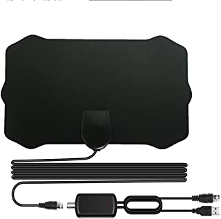 HDTV Antenna,XVZ Indoor Digital TV Antenna Amplified Support Freeview 4K HD Freeview Life Local Channels All Type Televisi...