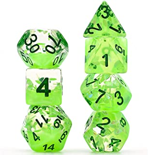 Cusdie olyhedral Dice Sets DND Four Seasons Dice for Dungeons and Dragons(D&D) Role Playing Game(RPG) MTG Pathfinder Table Game Dice