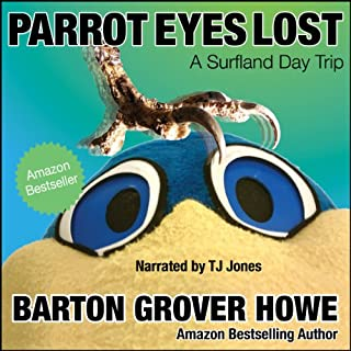 Parrot Eyes Lost audiobook cover art
