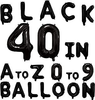 foil balloons letters