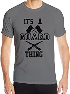 Bluma Men's Its A Guard Thing Guardians Sports Tee Shirts