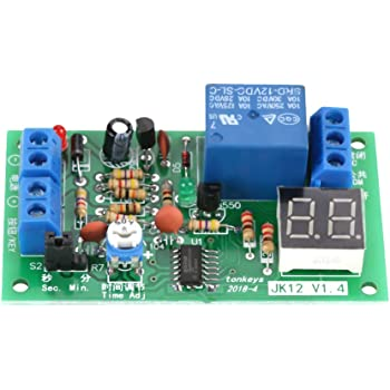 Time Delay Controller Board Delay-off Cycle Timer 0.01s-9999mins w// LCD Display
