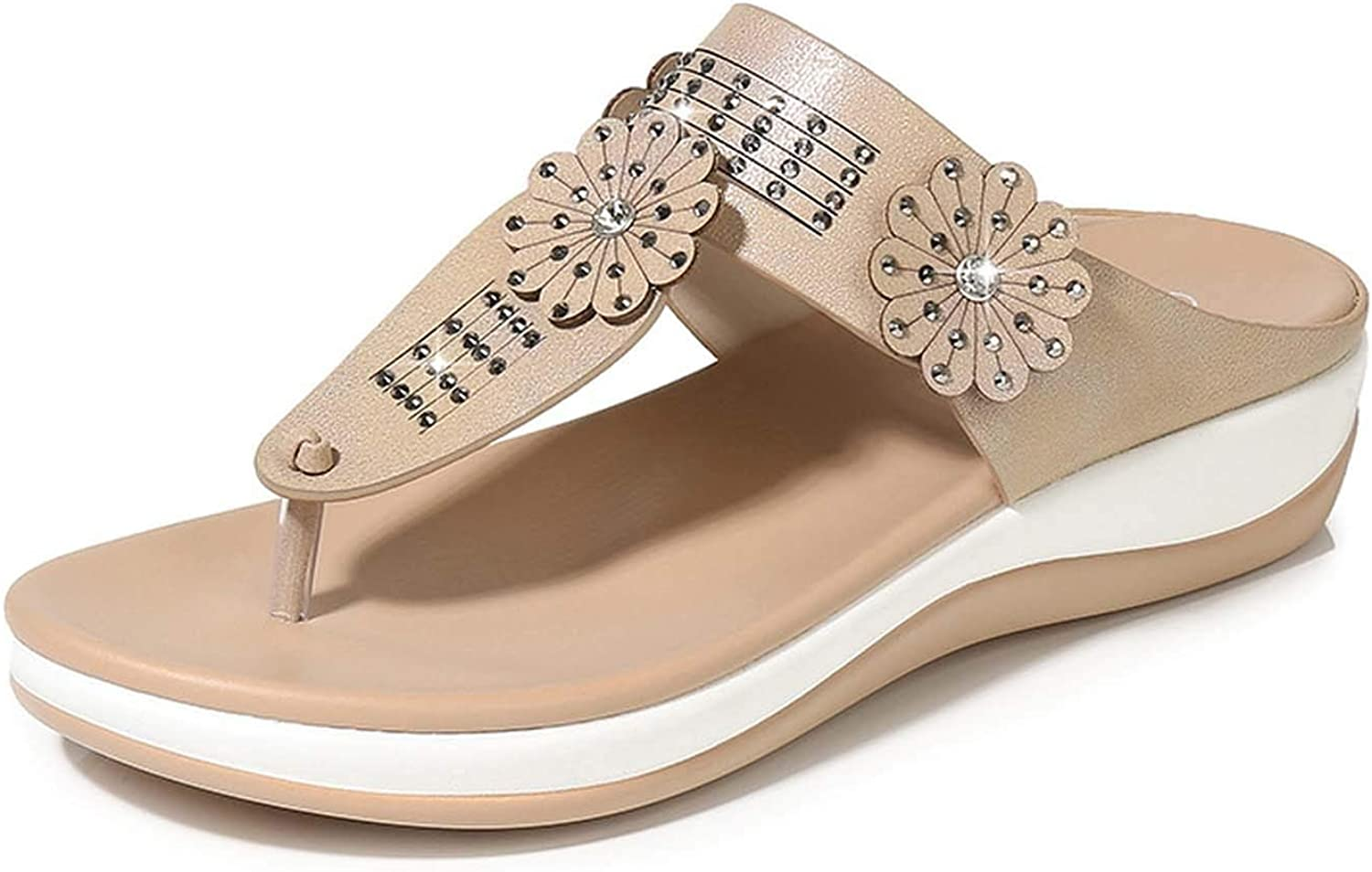 HuangKang Summer shoes Woman Platform Sandals Women Casual Open Toe Gladiator