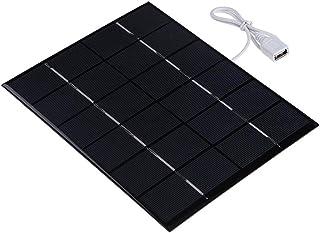 Everpert Paneles solares de epoxy de 5.2W 6V para el módulo de DIY del cargador del teléfono celular