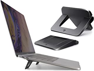 Laptop Stand for Desk, Portable Laptop Stand, Invisible Ergonomic Computer Holder Bracket Laptop Riser, Foldable Stands Co...