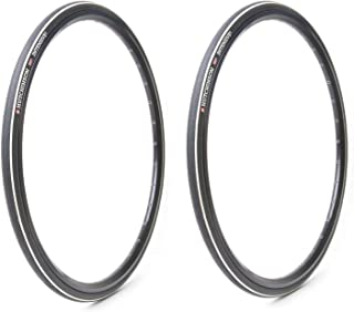 Hutchinson Intensive Tubeless Folding Road Bike Tires (2-Pack) | 700x25 | Reinforced Compound
