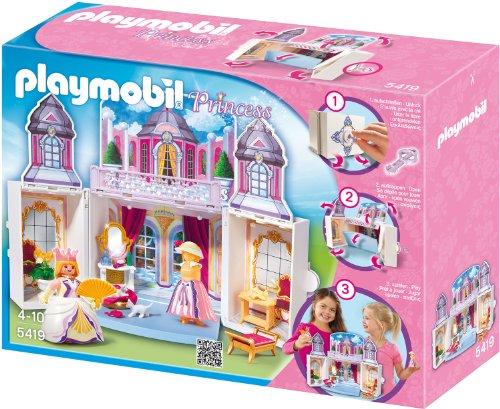 PLAYMOBIL 5419 - Aufklapp-Spiel-Box, Schlösschen