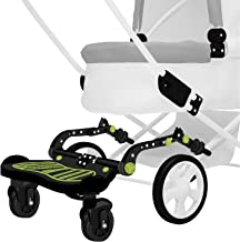 Universal Stroller Glider Board for Kids | Latch System for Easy Setup | Supports up to 70 lbs. | Reinforced Stand Board with Non-Slip Adhesive, Higher and Wider Feet Clearance