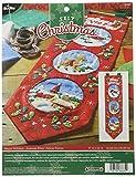 Bucilla - Juego de decoración para el hogar, 8,5 x 82 pulgadas, Happy Holidays Banner