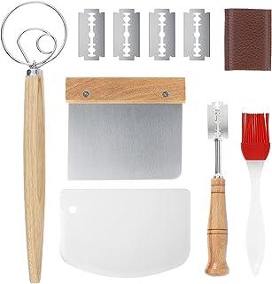 Generic Kit de cuisine Danese avec fouet à pâte, grattoir à pain 5 lames, couteau à four, couteau à pâtisserie, couteau à ...